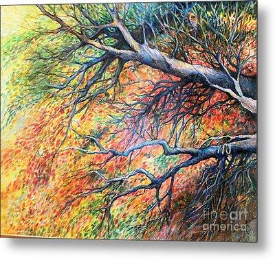 Sway Dancing Trees Metal Print