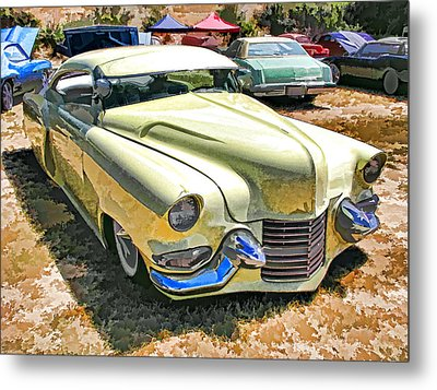Sweet And Low-rider 3/4 Front View Metal Print by Samuel Sheats