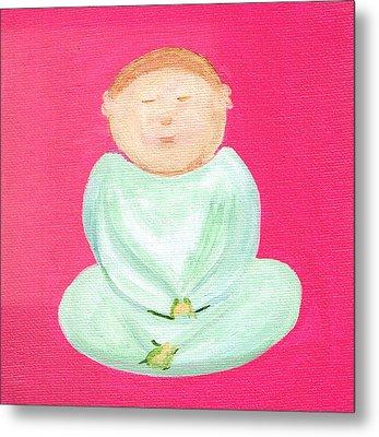 Sweet Buddha Metal Print