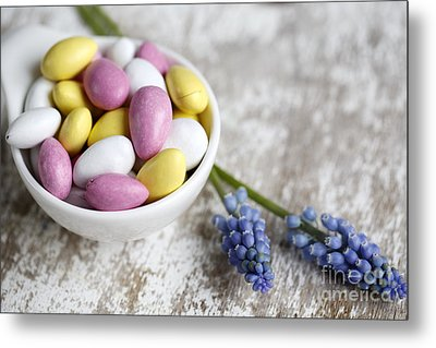 Sweet Candy Metal Print by Nailia Schwarz