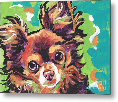 Sweet Choco Chi  Metal Print by Lea S