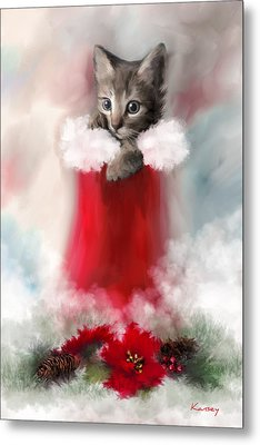 Sweet Christmas Metal Print