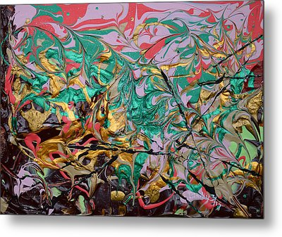 Sweet Confection Metal Print by Donna Blackhall