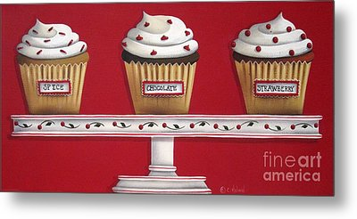 Sweet Delights Metal Print by Catherine Holman