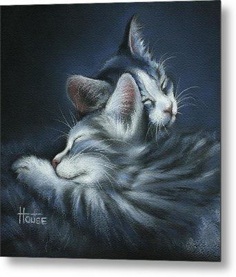 Metal Print featuring the drawing Sweet Dreams by Cynthia House