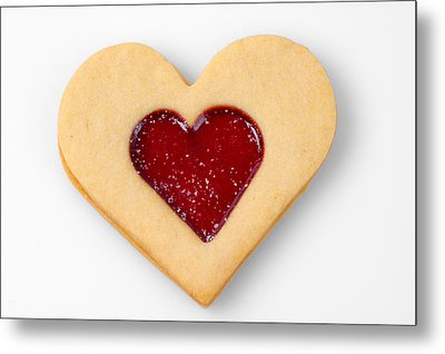 Sweet Heart - Symbol For Love Valentine Relationship Metal Print by Matthias Hauser