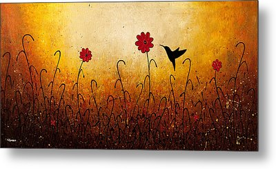 Sweet Inspiration Metal Print by Carmen Guedez