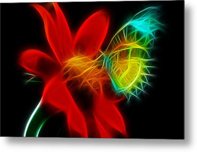 Sweet Metal Print by Karen Showell