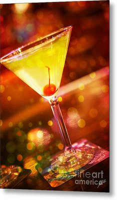 Sweet Martini  Metal Print