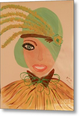 Sweet Mary Of The Sun Metal Print by Marie Bulger