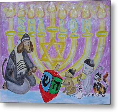 Sweet Shalom Metal Print