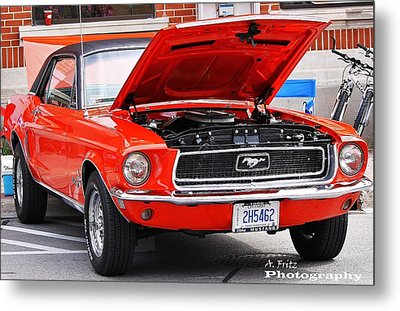 Sweet Stang... Metal Print by Al Fritz