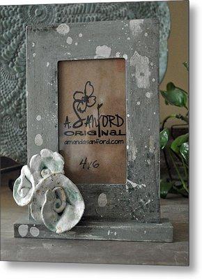 Sweet Sucrose Frame Metal Print by Amanda  Sanford