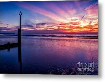 Sweet Sunset Metal Print by Adrian Evans