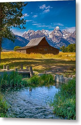 Metal Print featuring the photograph Sweet Teton Morning by Rob Wilson