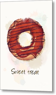Sweet Treat.jpg Metal Print by Jane Rix