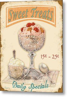 Sweet Treats Metal Print by Jean Plout