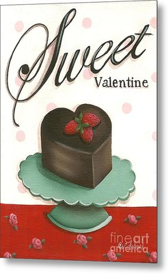 Sweet Valentine  Metal Print by Catherine Holman