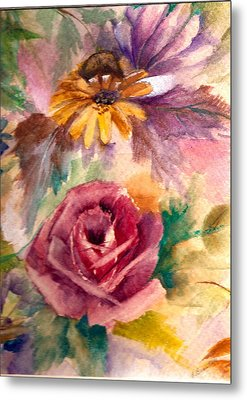 Metal Print featuring the painting Sweetness by Ellen Canfield