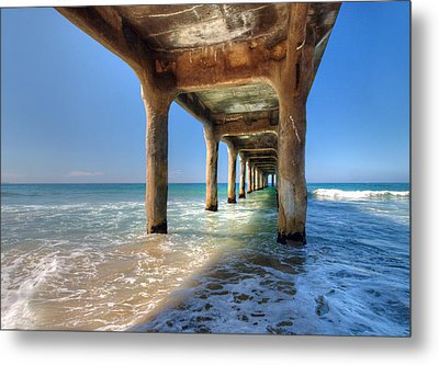 Swept Away Metal Print