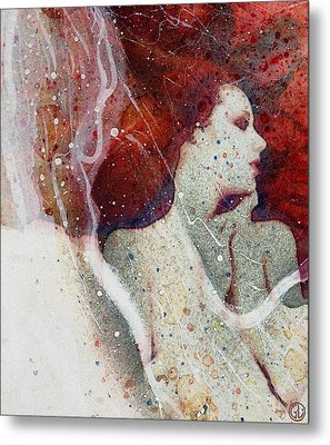 Swept In A Bubbly Dream Metal Print