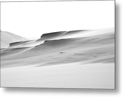 Metal Print featuring the photograph Swiftly Moving Dunes by Adria Trail