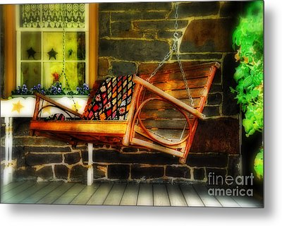 Swing Me Metal Print by Lois Bryan