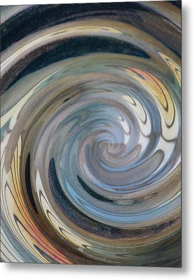 Metal Print featuring the photograph Swirl by Diane Alexander