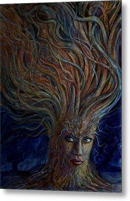 Swirling Beauty Metal Print by Frank Robert Dixon