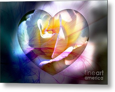 Swirls Of Love And Hope Metal Print