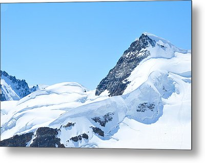 Metal Print featuring the photograph Swiss Alps by Joe  Ng