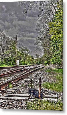 Switch Metal Print by Alan Look
