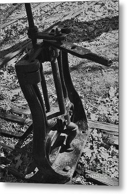 Metal Print featuring the photograph Switching Tracks by Sara  Raber