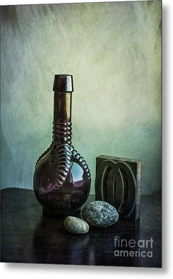 Sybil's Bottle Metal Print by Terry Rowe