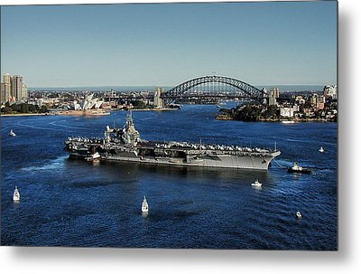 Metal Print featuring the photograph Sydney Harbor by John Swartz