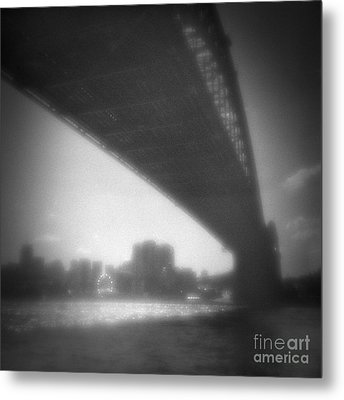 Sydney Harbour Bridge And North Sydney Metal Print by Colin and Linda McKie
