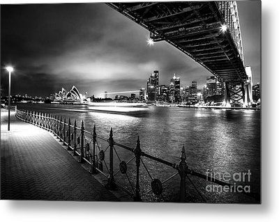Sydney Harbour Ferries Metal Print by Az Jackson