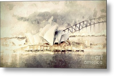 Sydney Opera House Metal Print by Shanina Conway