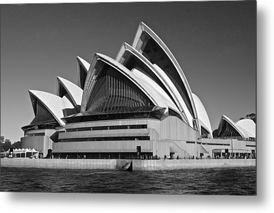 Sydney Opera House Metal Print by Venetia Featherstone-Witty