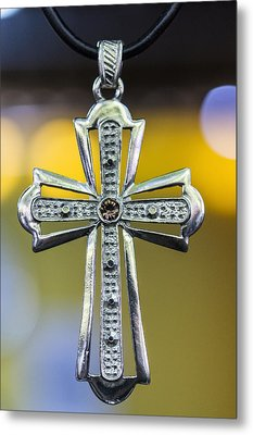 Symbol Of Faith Metal Print