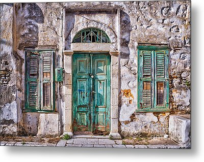 Symi Metal Print by Delphimages Photo Creations