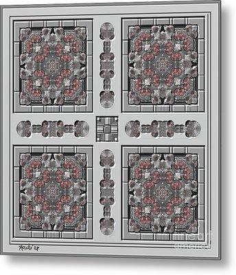Symmetrica 313 Metal Print by Nedunseralathan R