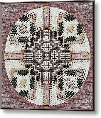 Symmetrica 314 Metal Print by Nedunseralathan R
