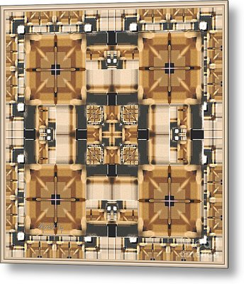 Symmetrica 315 Metal Print by Nedunseralathan R