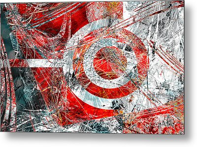 Metal Print featuring the digital art Symmetry by Fine Art By Andrew David