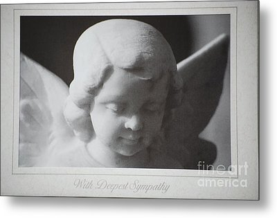 Sympathy      Angel Metal Print