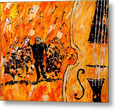 Symphony Metal Print by Mark Moore