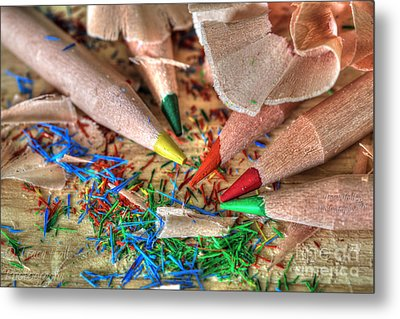 Symphony Of Color Metal Print by Tracy  Hall