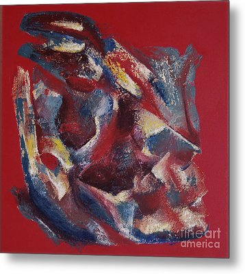 Metal Print featuring the painting Syncopation by Mini Arora