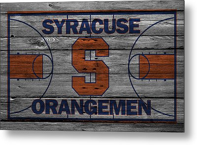 Syracuse Orangemen Metal Print by Joe Hamilton